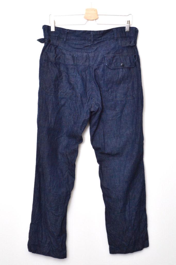 Ground Pant – 8oz Denim グランドパンツ デニムパンツの買取実績画像