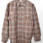 1930'S OREGON CITY WOOL SHIRT ウールチェック ワークシャツ