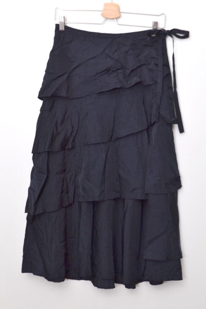 AD2006/ キュプラ ティアードスカート