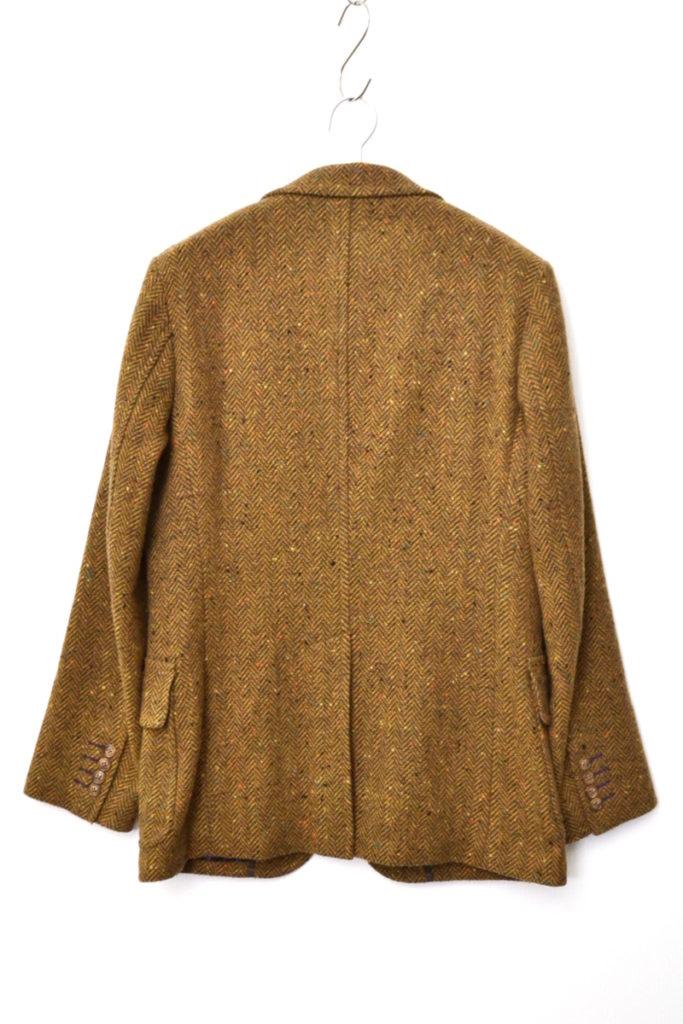 裏ペイズリー ネップヘリンボーンツイード 2Bジャケットの買取実績画像
