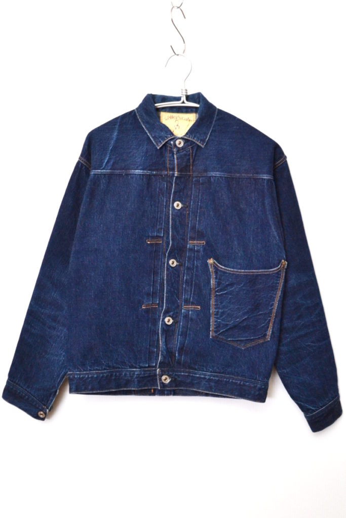 LARRY'S COLLECTION/Nonpareil Browse Jacket 1st デニムジャケットの買取実績画像