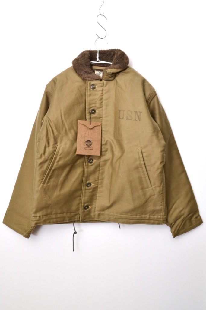 BR12032 NAVAL CLOTHING DEPOT DEMOTEX-ED N-1 デッキジャケット