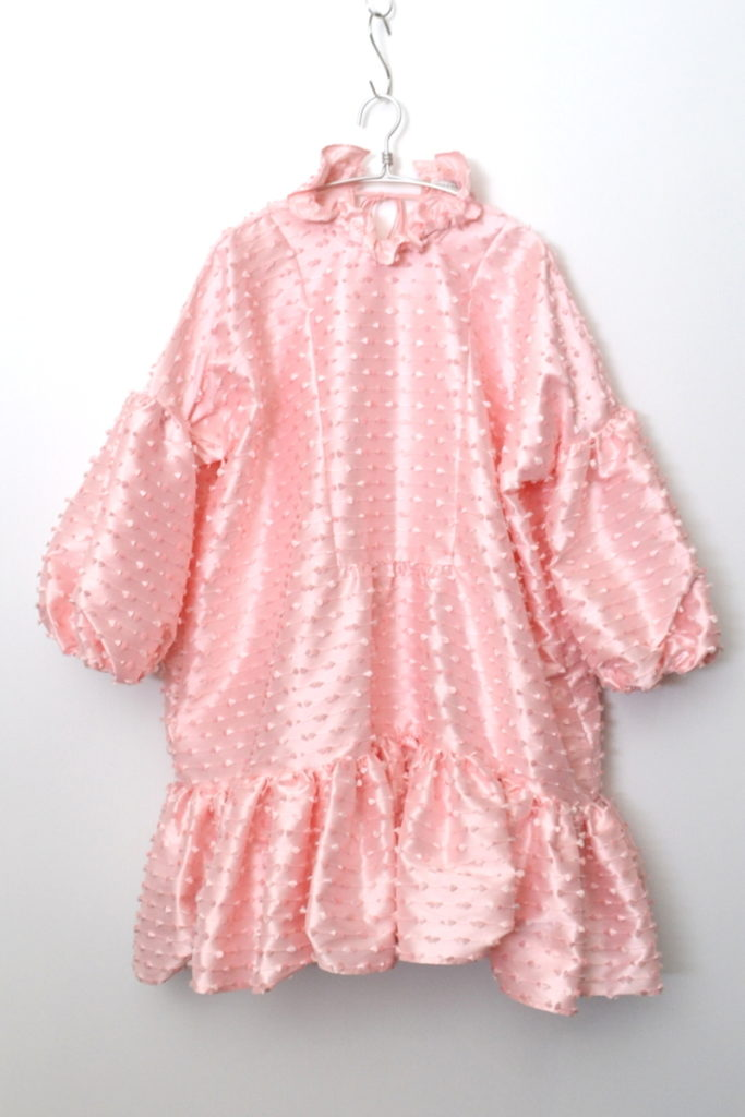 2018SS/ シルク混 ボリューム ワンピース ドレスの買取実績画像