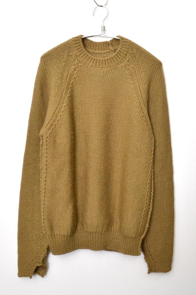 2016AW/ ローゲージニット クルーネックセーター