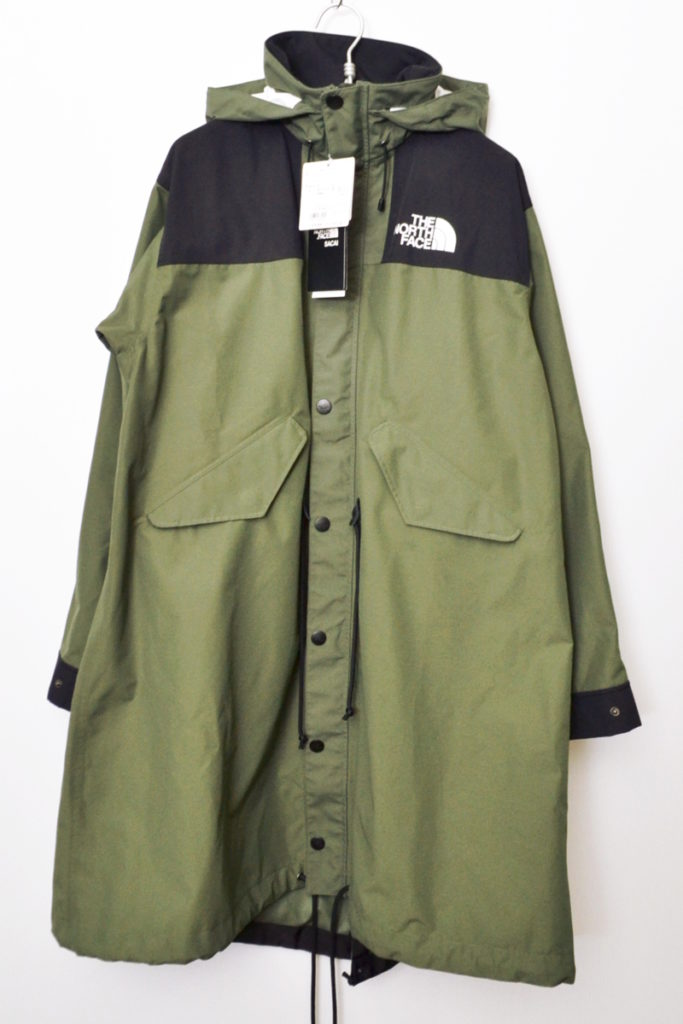 × THE NORTH FACE ◆ 2017AW/NP6171SA LONG COAT モッズコート
