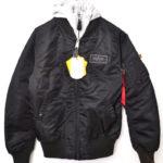 20012-201 ALPHA MA-1 D-TEC TIGHT フード フライトジャケット