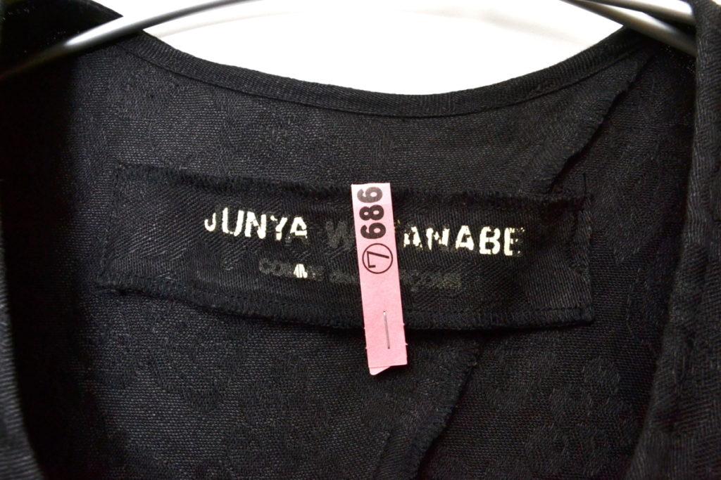 AD1992 1stコレクション/リネン ブドウ織り柄 アシンメトリーワンピースの買取実績画像