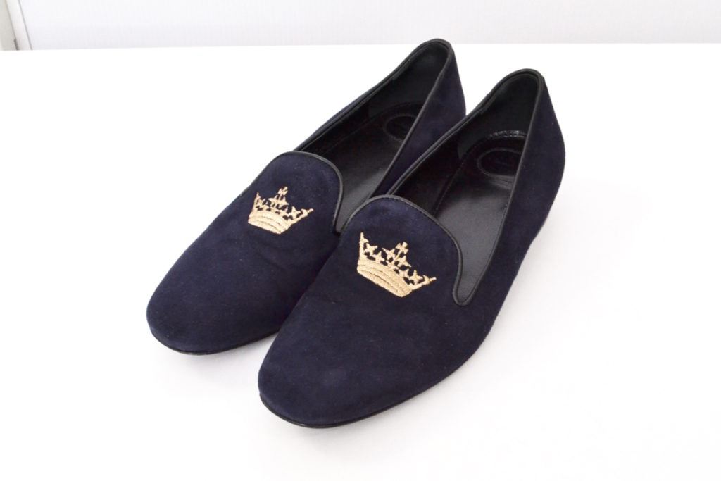 A73951 DONNA MOCASSIN SUEDE CLASSIC スウェード オペラシューズ