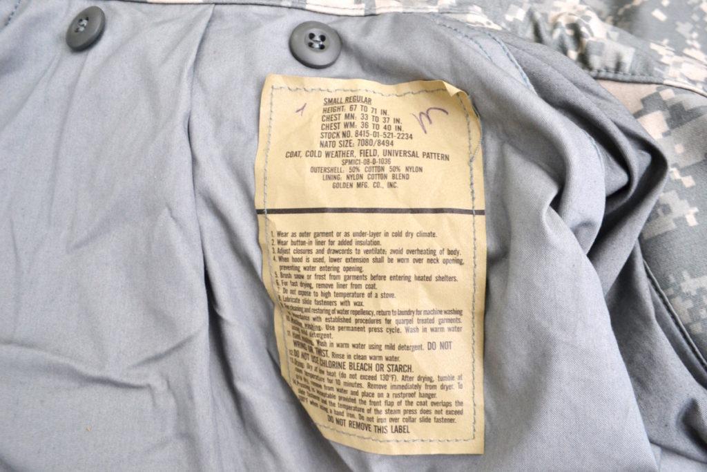 M-65 フィールドジャケットの買取実績画像