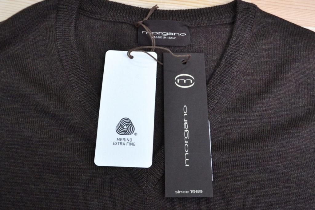 メリノウール Vネックニット セーターの買取実績画像
