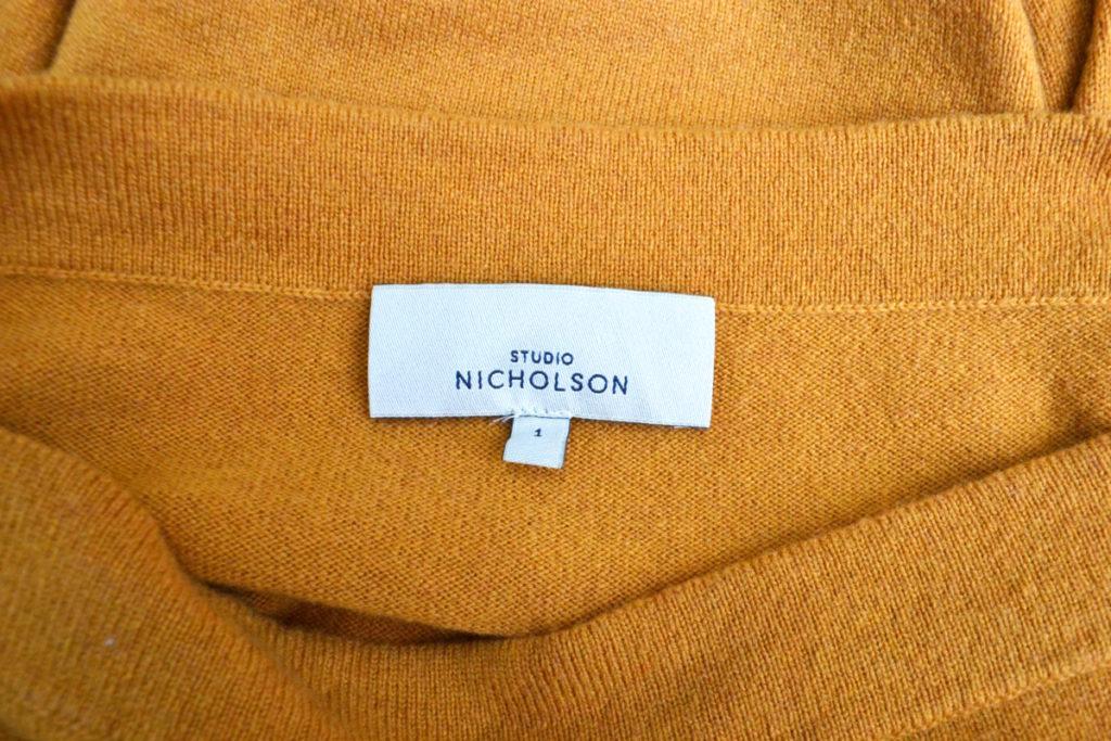 ウール ボートネック ニット セーターの買取実績画像