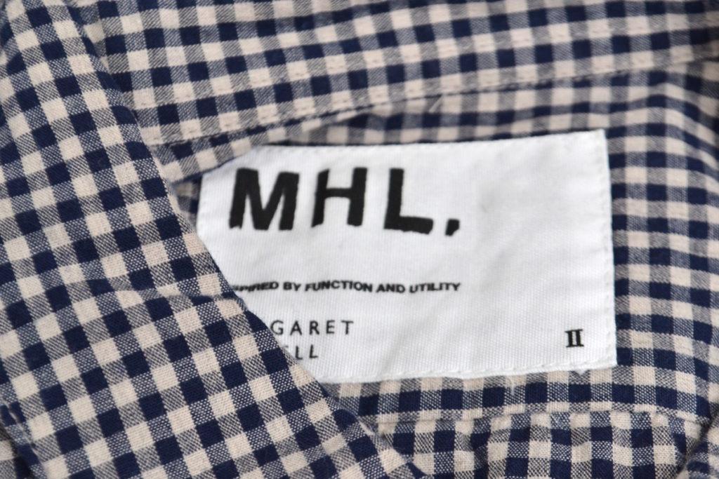 コットン ギンガムチェック シャツの買取実績画像