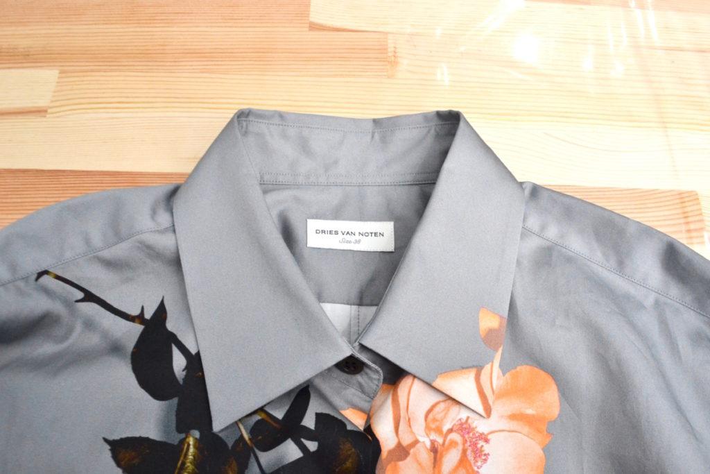 コットン 花柄 プリント シャツの買取実績画像