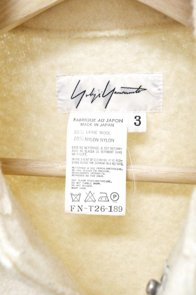 1999AW/圧縮ウール フロントスナップ シングルコートの買取実績画像