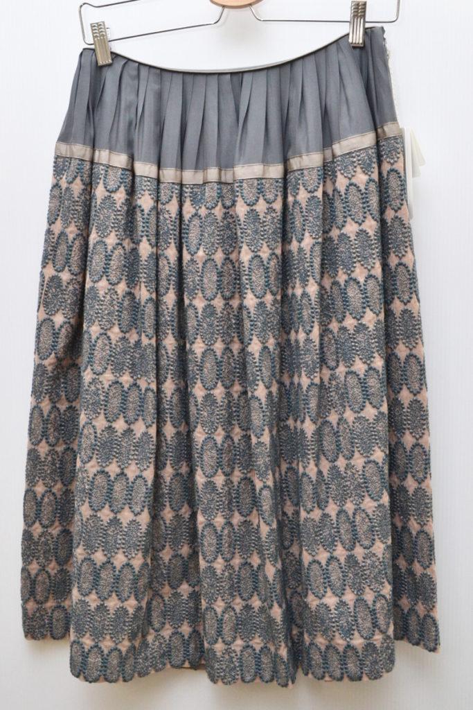 tarte コットンシルク 刺繍 スカート