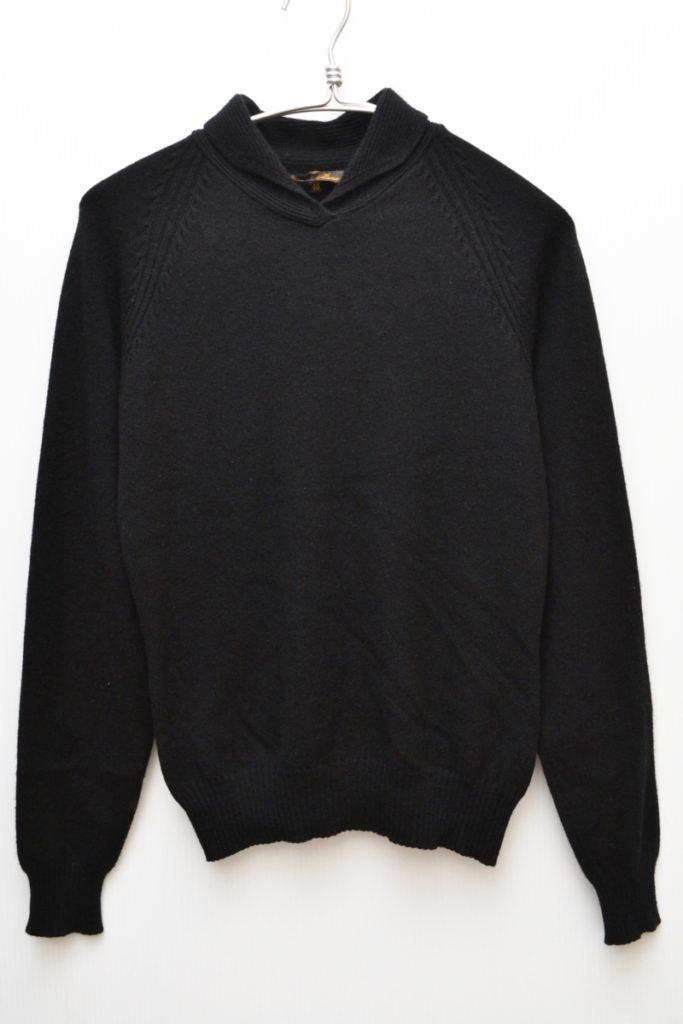 カシミヤ100% 襟付きニット セーター