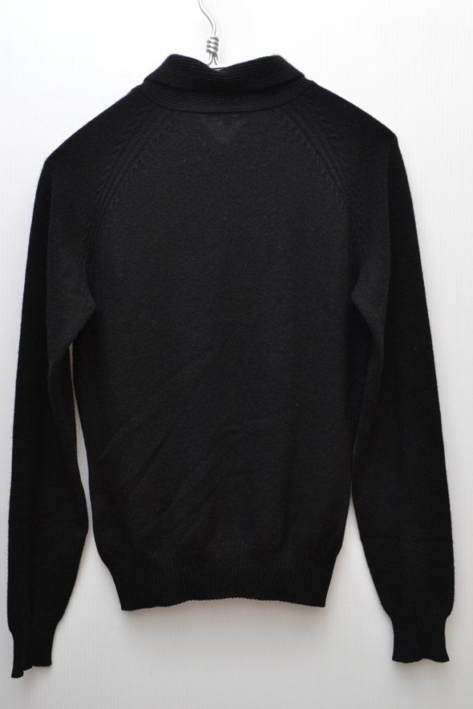 カシミヤ100% 襟付きニット セーターの買取実績画像