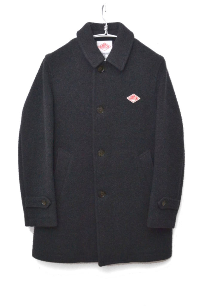 2014AW/JD-8534/ ウールモッサ ステンカラーコート ジャケット
