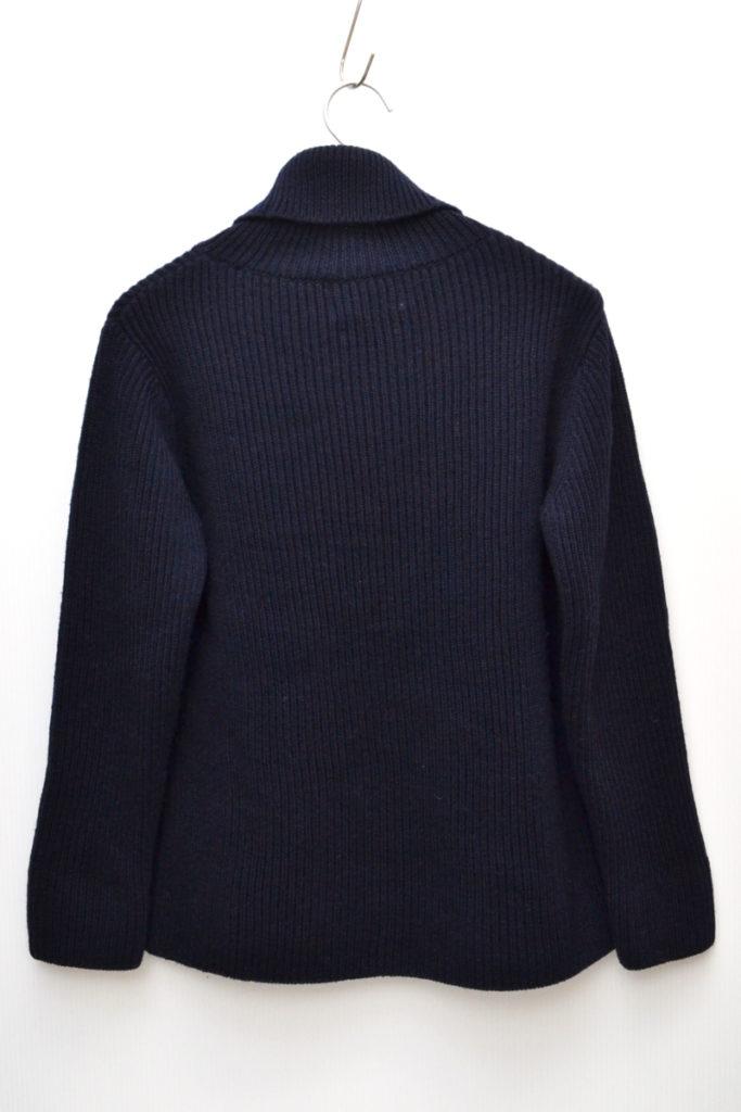 畦編みローゲージ タートルネックニット セーターの買取実績画像