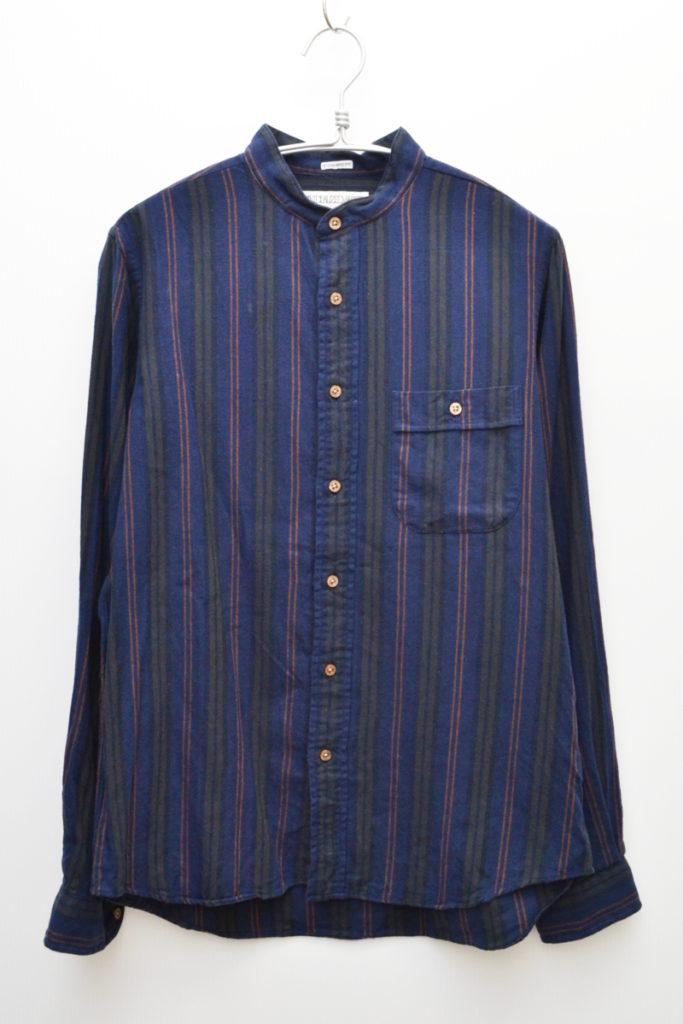 STANDARD FIT バンドカラー フランネルシャツの買取実績画像