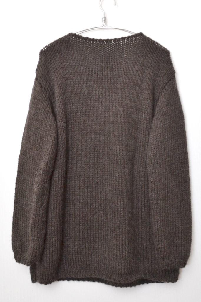 2018AW/Hand Knit Sweater アルパカ混紡 ハンドニットセーターの買取実績画像