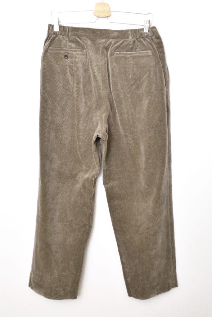 2018AW/Easy Trousers コーデュロイ イージー トラウザー パンツの買取実績画像