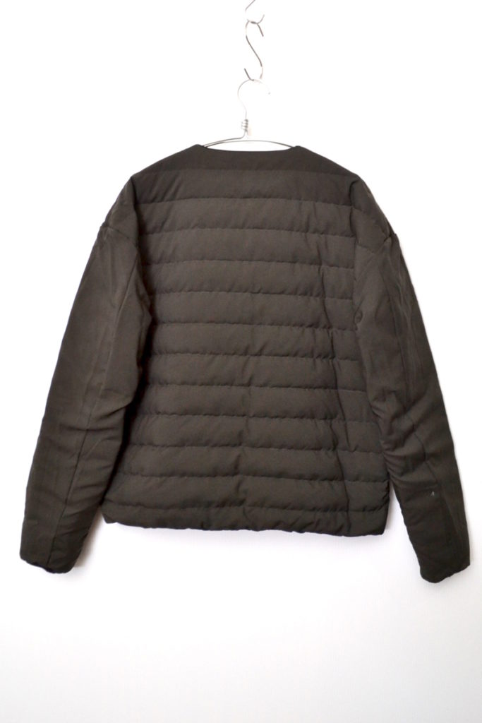× NANGA ◆ 2108AW/ リバーシブル インナー ダウン ジャケットの買取実績画像