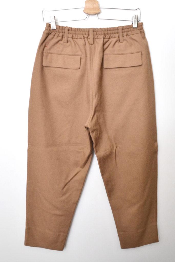 2017AW/peruvian wook serge trousers 2タック ウールサージ イージーパンツの買取実績画像