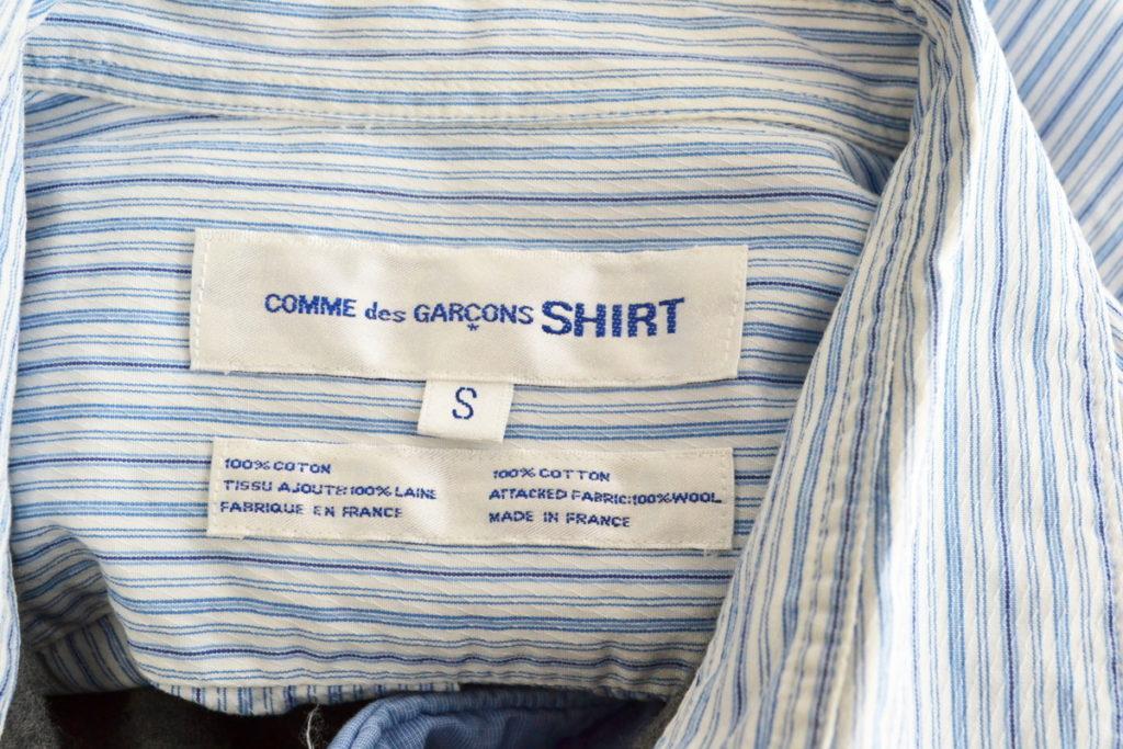 異素材パッチワーク 長袖シャツの買取実績画像