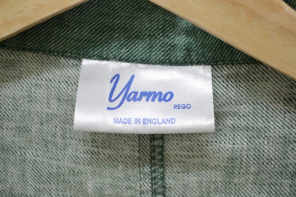 Raglan Linen coat ラグランスリーブ リネンシャンブレーコートの買取実績画像