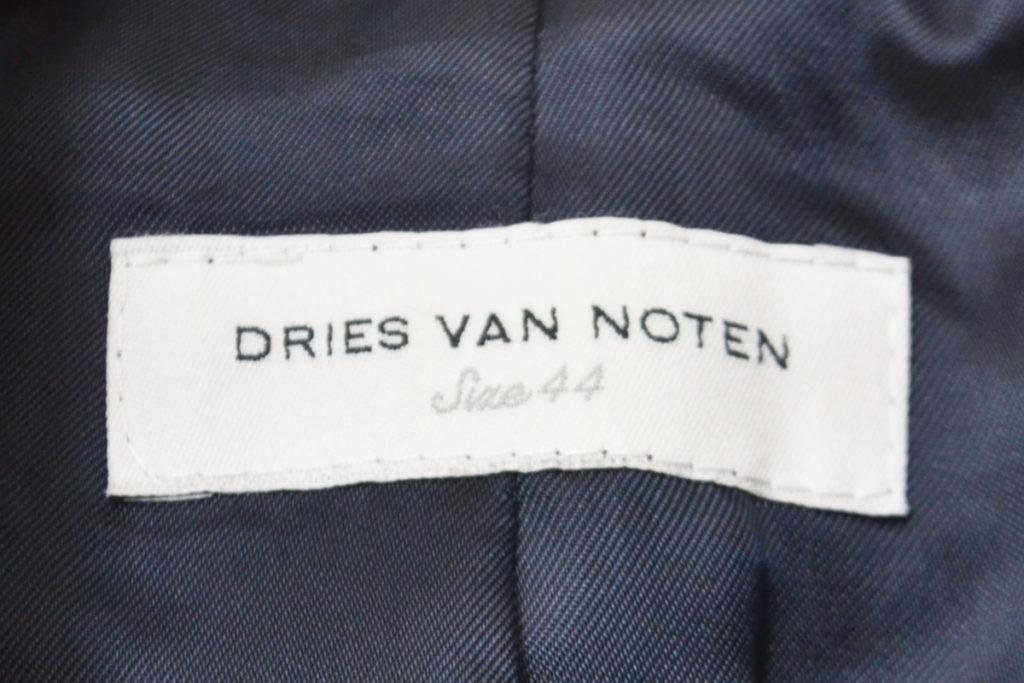 ウールストライプ スナップボタン ダブルブレストジャケットの買取実績画像