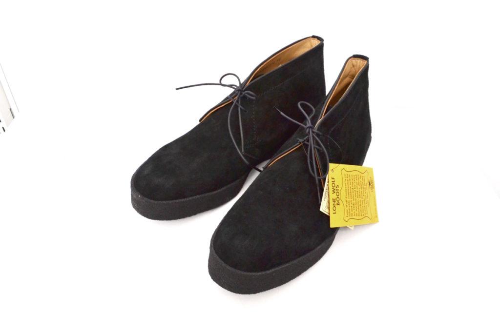 PLAYBOY BOOTS LONE WOLF BOOTS ナチュラルラバーソール ロンウルフ ブーツ
