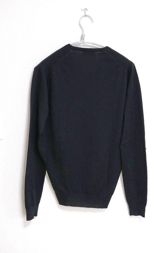 MERINO WOOL EXTRAFINE メリノウール Vネックニット セーターの買取実績画像