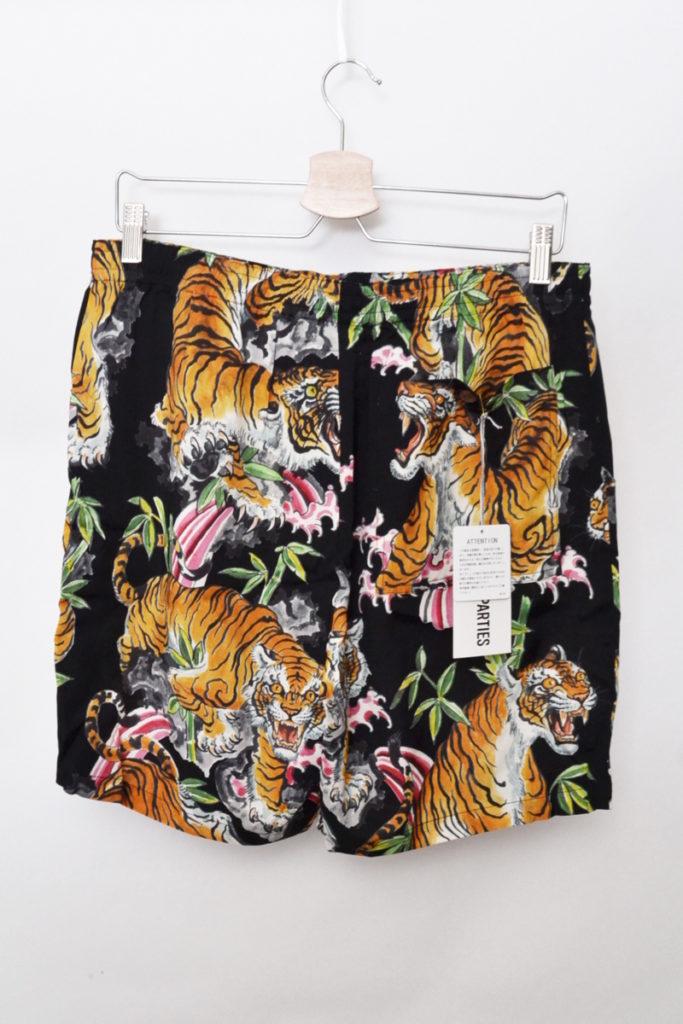 TIM LEHI / HAWAIIAN SHORTS タイガー 虎 アロハショーツ ショートパンツの買取実績画像