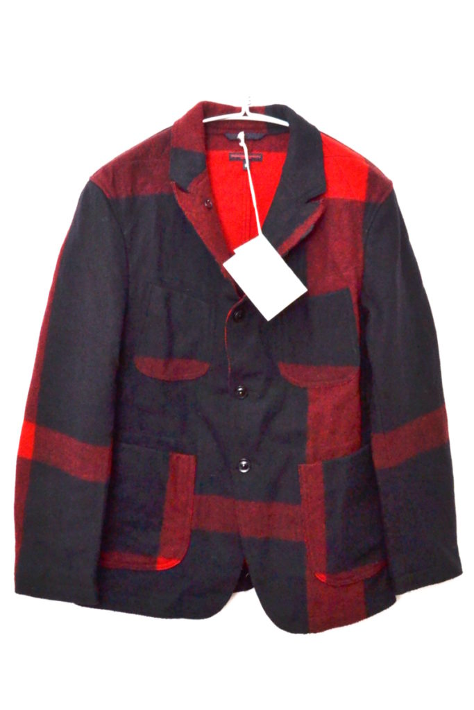 2018AW/RE Bedford Jacket Big Plaid Wool Melton ベッドフォードジャケット