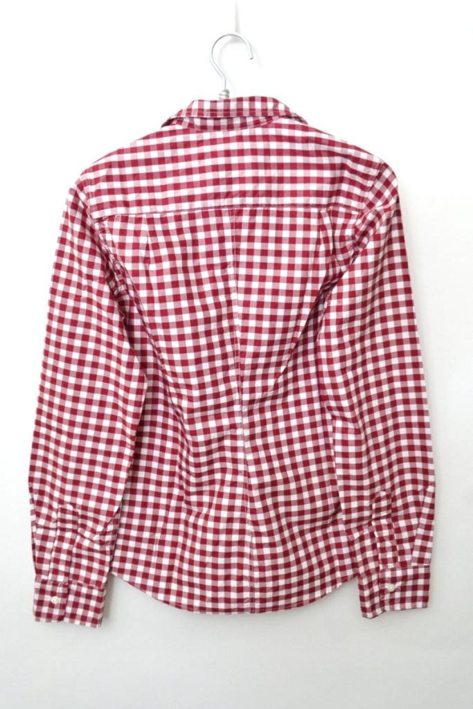 BARRY ギンガムチェック コットン スキッパーシャツの買取実績画像