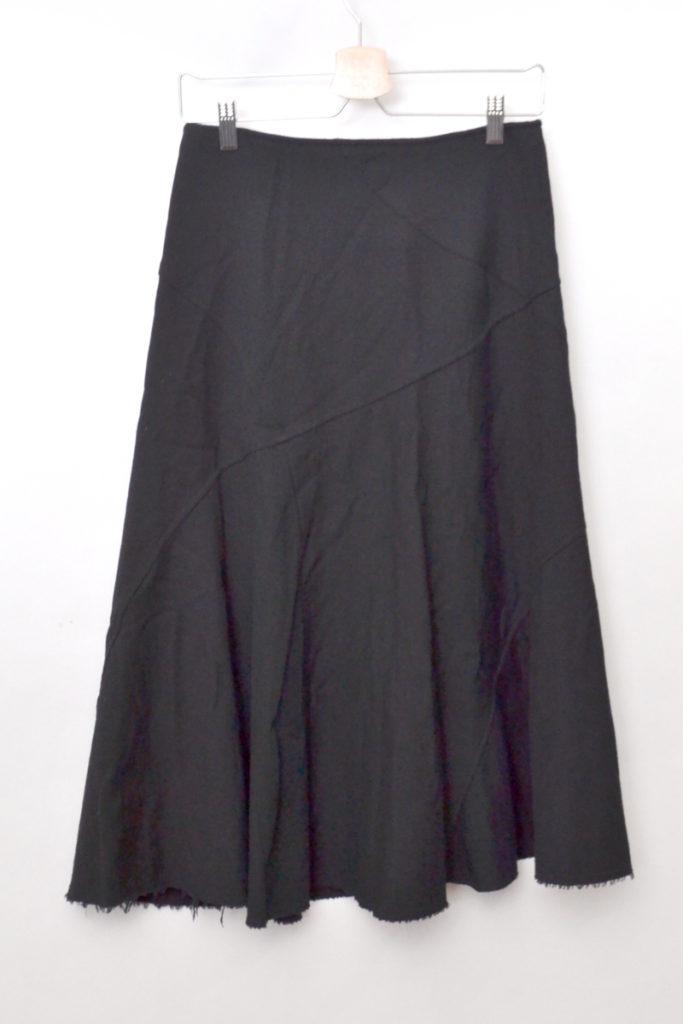 AD2006 06AW/裾カットオフ ウールロングスカートの買取実績画像