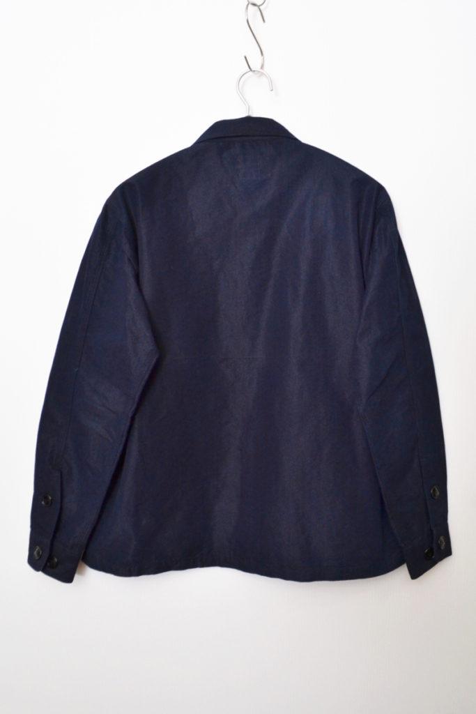インディゴ染め ワークシャツジャケットの買取実績画像