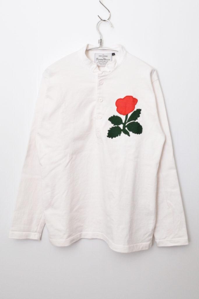 ENGLAND 1871 RUGBY SHIRT 花 刺繍 ラグビー ラガー シャツ