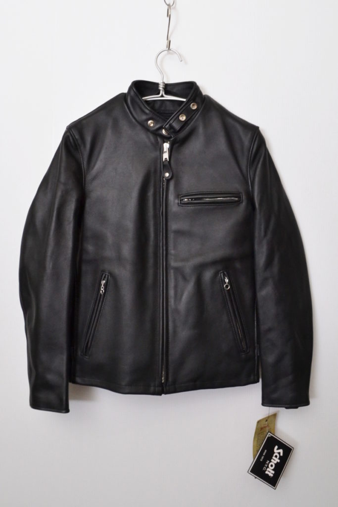 641 OLD SINGLE RIDERSボアライナー付き シングルレザー ライダースジャケット
