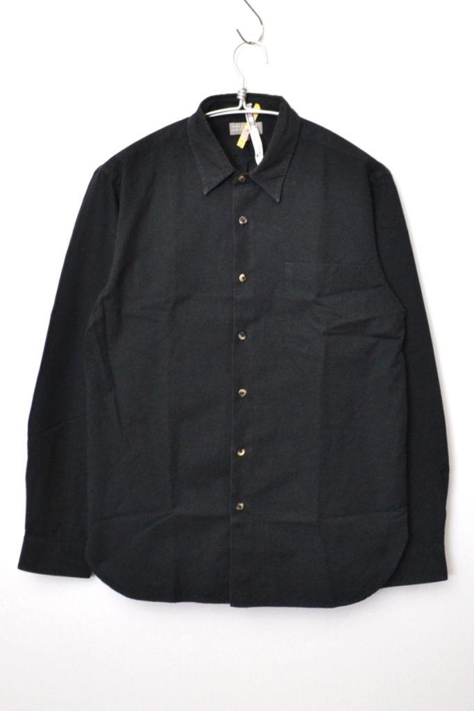 コットン ウール 長袖 シャツ