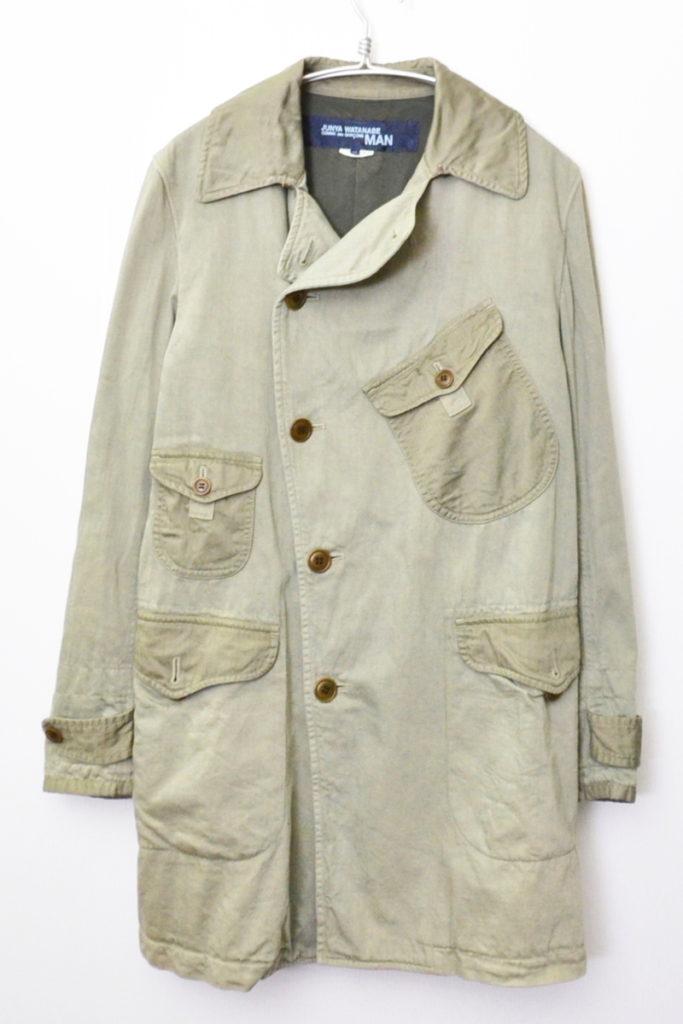 AD2013 2013AW/ 変形 ミリタリー ジャケット コートの買取実績画像