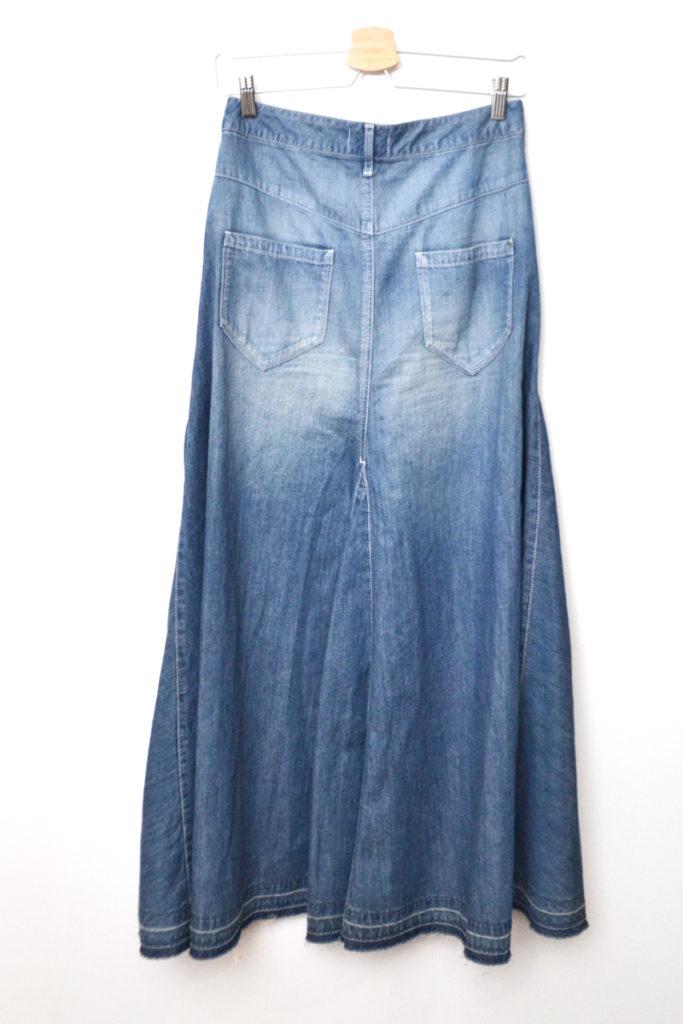 デニム マキシ ロング スカートの買取実績画像