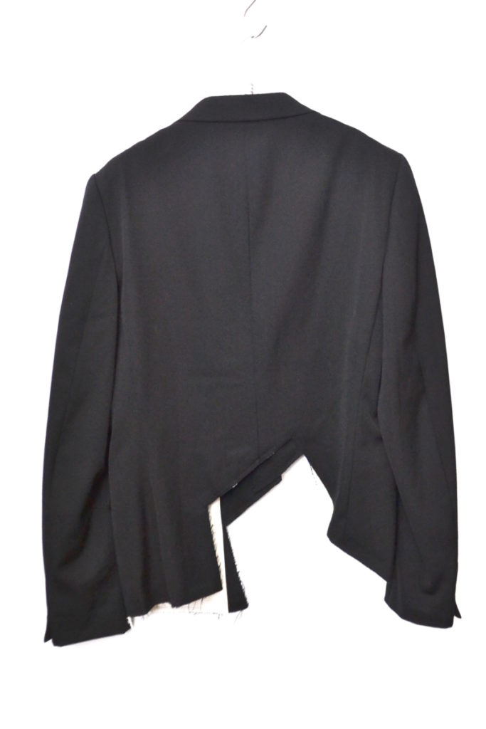 16SS/アシンメトリー カッティング ジャケットの買取実績画像