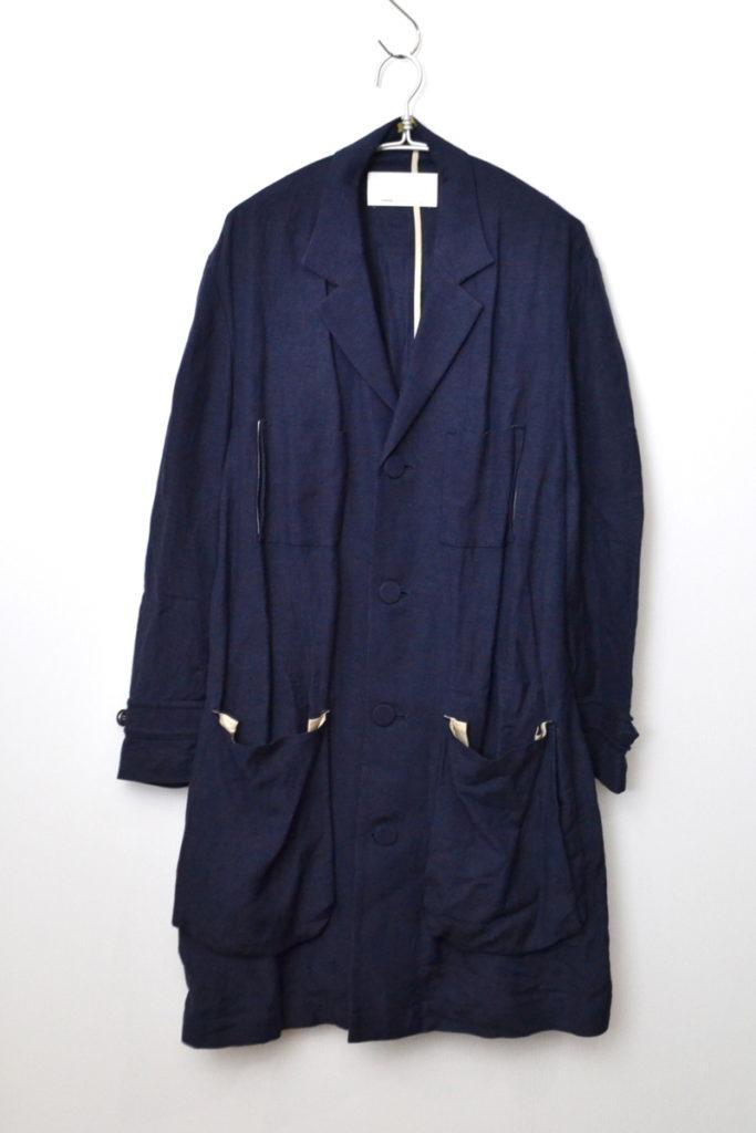 2015SS/ Researchers coat リネン レーヨン リサーチャーズ コート