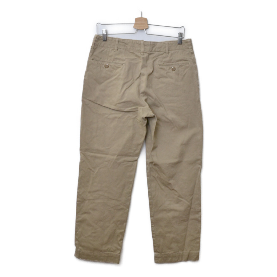 WORKADAY/41 Khaki w/ Zip Front チノ トラウザー パンツの買取実績画像