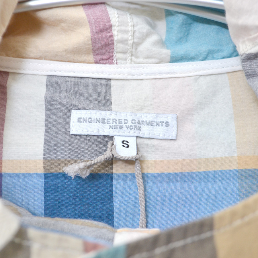 CAGOULE POPOVER MADRAS SHIRT JACKET チェック カグールシャツの買取実績画像