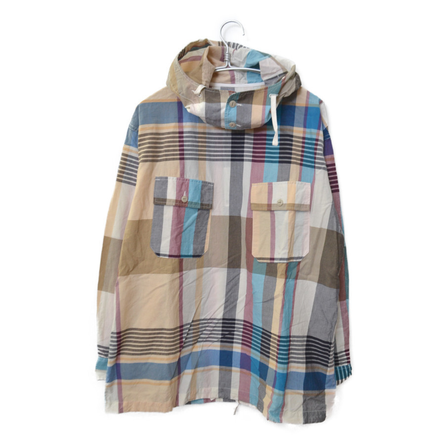 CAGOULE POPOVER MADRAS SHIRT JACKET チェック カグールシャツ