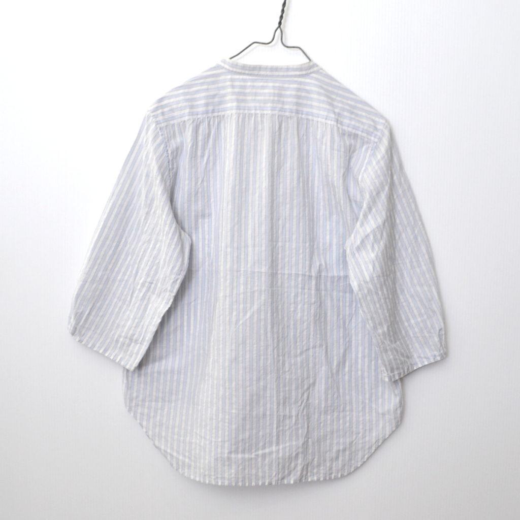 スタンドカラー ストライプ シャツの買取実績画像