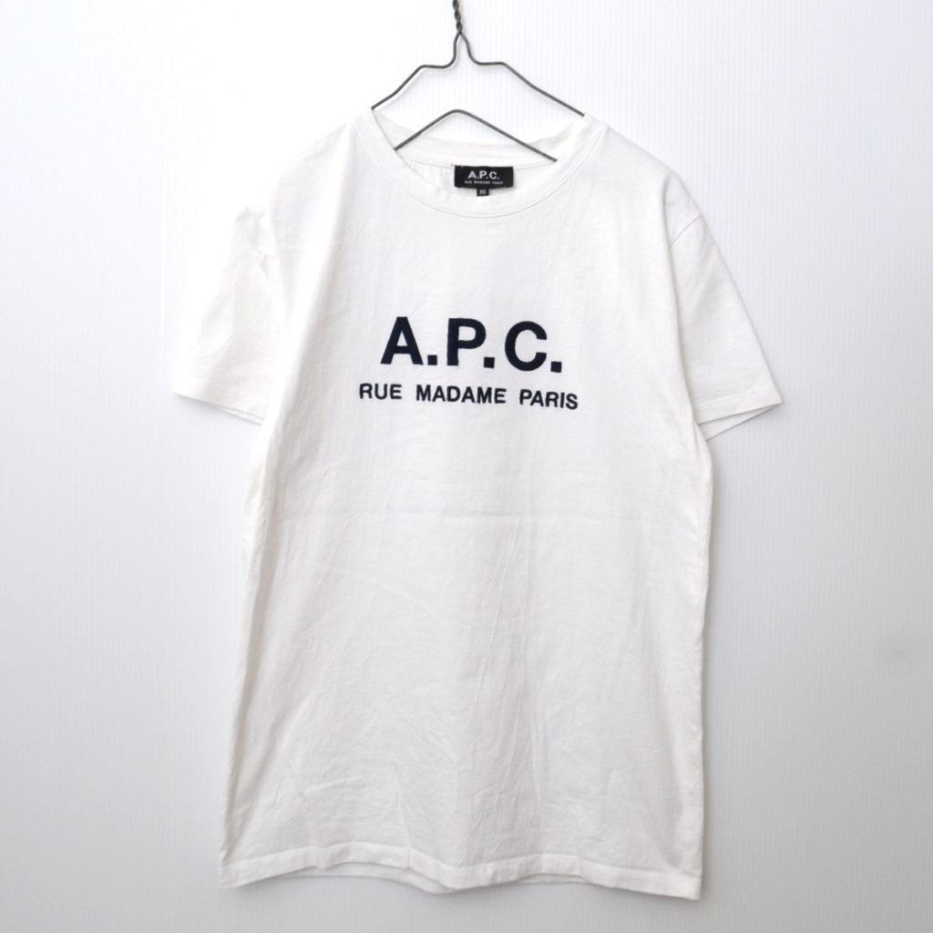 ロゴ 刺繍 半袖 Tシャツ